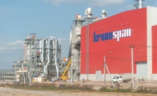 Завод Kronospan в Австрии